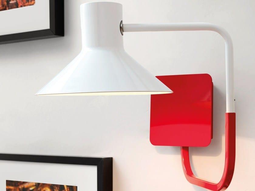 LED direct light iron wall lamp SISTER | Iron wall lamp by ZAVA