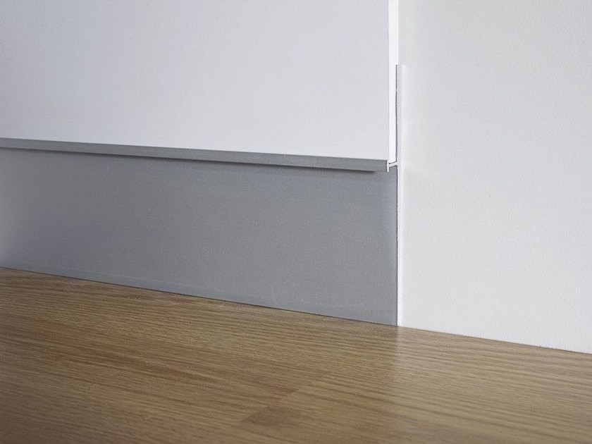Aluminium Skirting board METAL LINE 101 by PROFILPAS