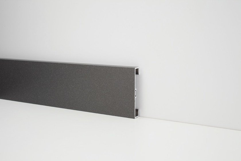 Aluminium Skirting board METAL LINE 89/613 by PROFILPAS