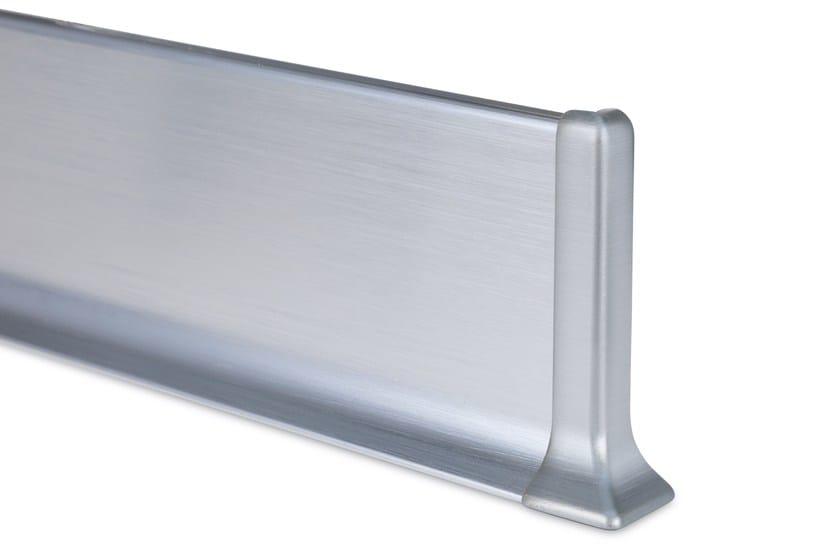 Metal Line 90 alluminio bril. satinato argento
