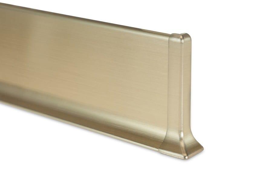 Metal Line 90 alluminio bril. satinato oro