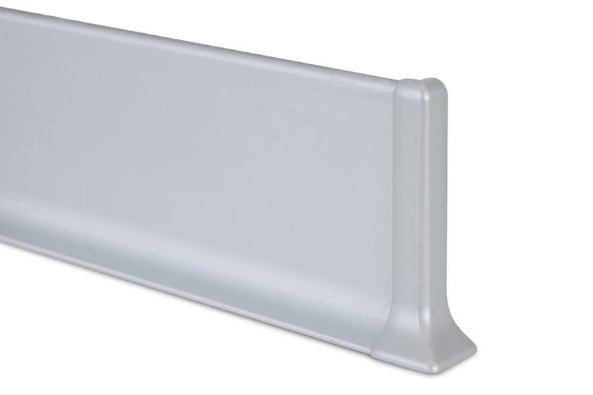 Metal Line 90 alluminio anodizzato argento