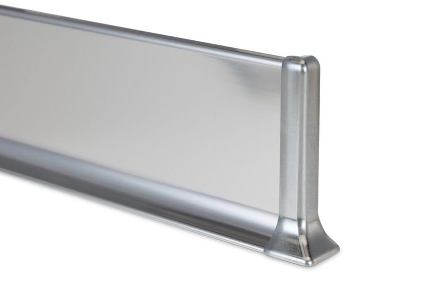 Metal Line 90 alluminio bril. lucido titanio