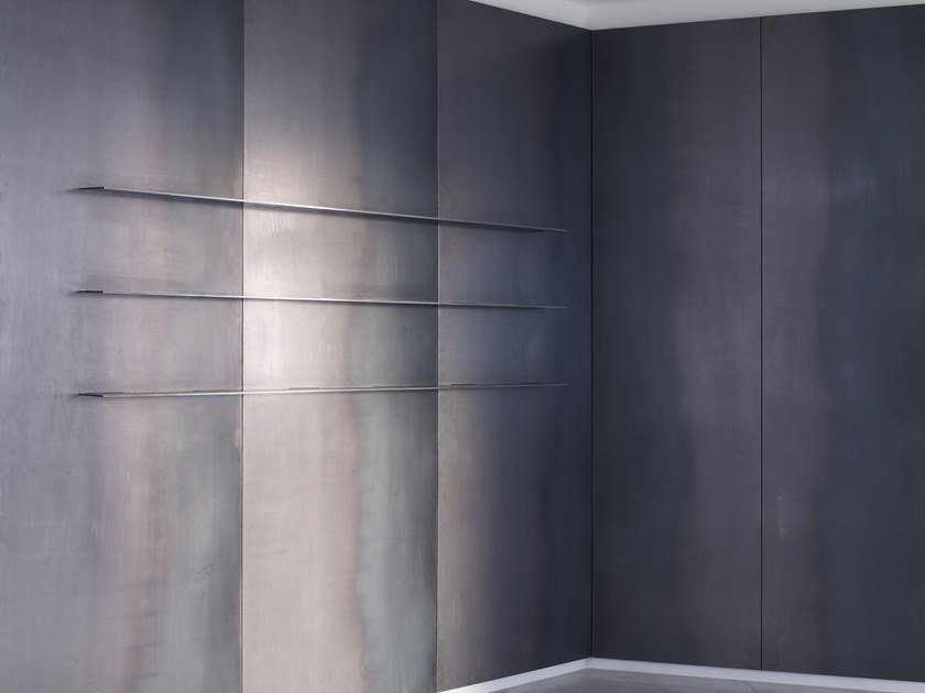 Hot rolled steel wall panel METAL WALL PANEL by Isomi