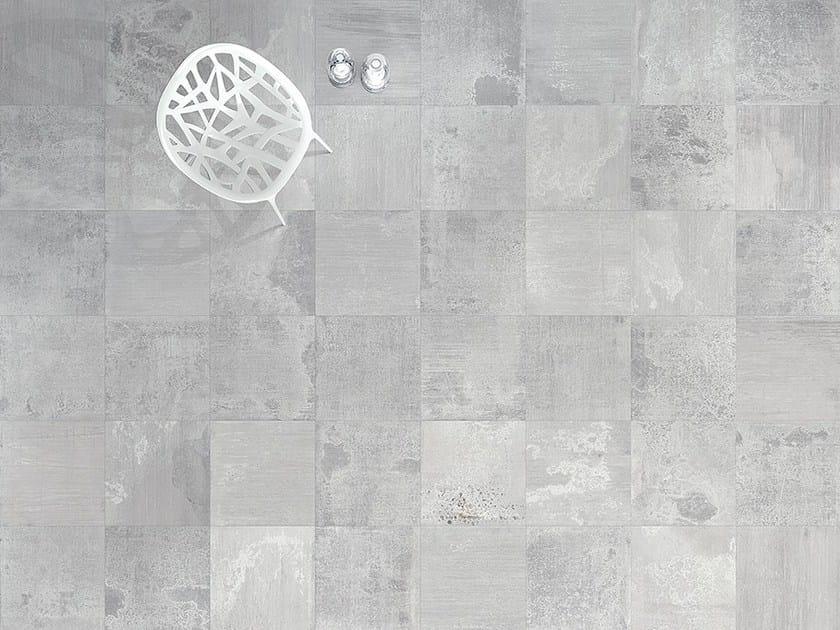 Porcelain stoneware flooring METALBAX by Ceramica Fioranese