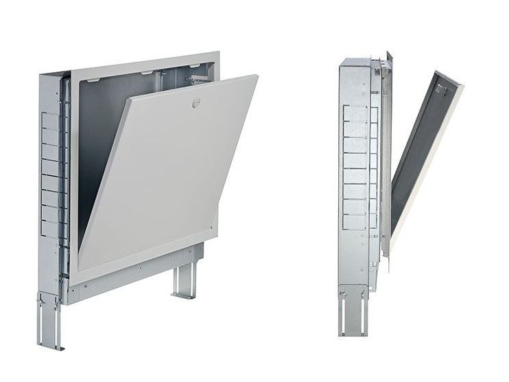 Manifold cabinet for manifolds and distribution groups METALBOX PLUS by EMMETI