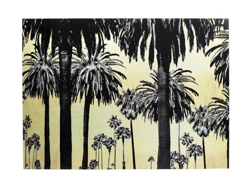 Photographic print METALLIC PALMS   Photographic print by KARE-DESIGN