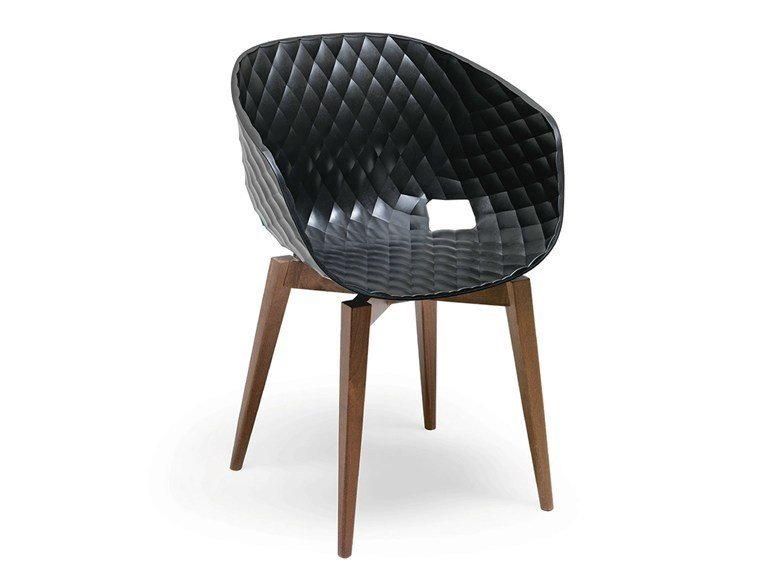 Polypropylene chair METALMOBIL | UNI-KA 599 by Archiproducts.com