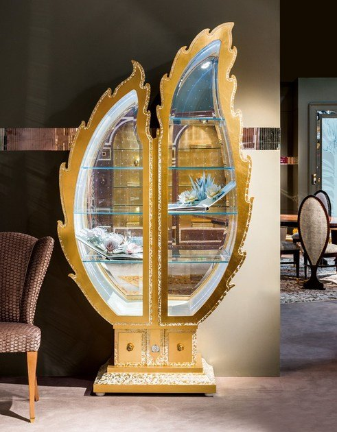 Classic style display cabinet METAMORFOSI | Display cabinet by Carpanelli Classic