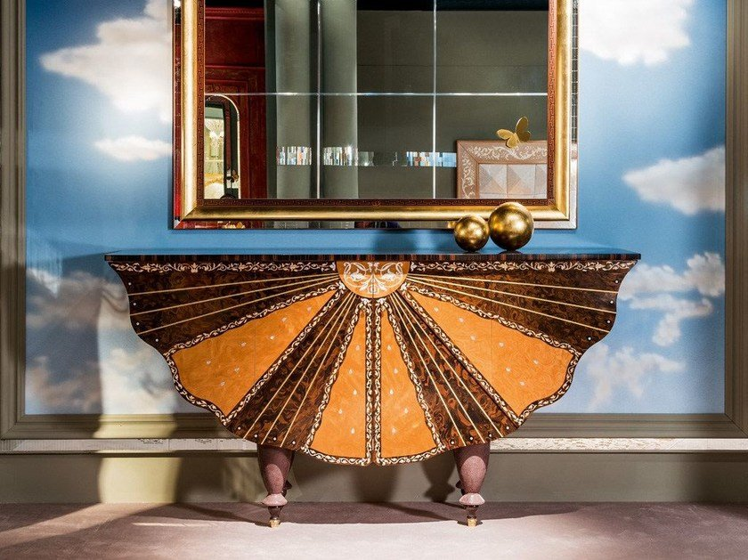 Wooden sideboard METAMORFOSI   Sideboard by Carpanelli Classic