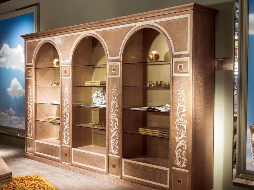 Wooden bookcase METAMORFOSI | Bookcase by Carpanelli Classic