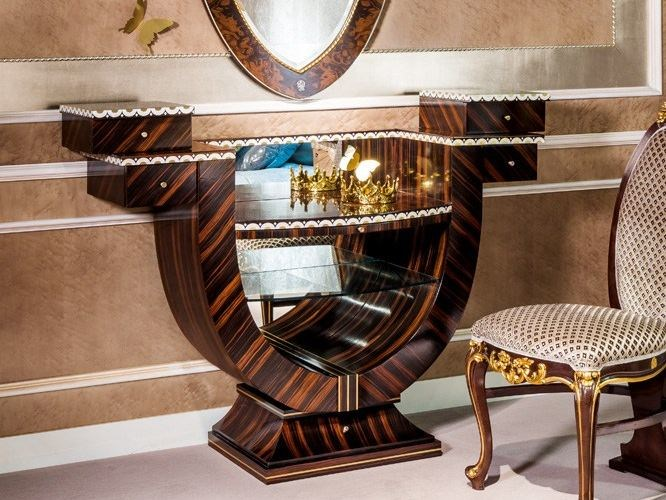 Classic style wooden dressing table METAMORFOSI | Dressing table by Carpanelli Classic