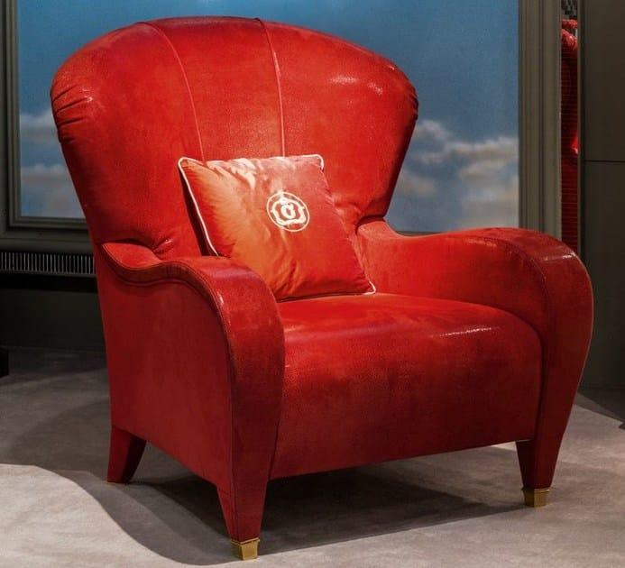 Classic style fabric armchair METAMORFOSI | Armchair by Carpanelli Classic