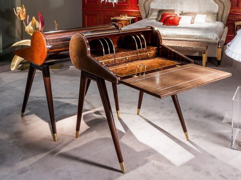 Classic style wooden secretary desk METAMORFOSI | Secretary desk by Carpanelli Classic