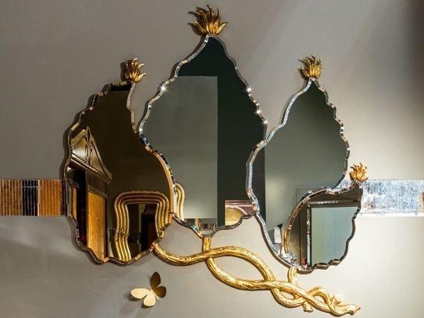 Wall-mounted mirror METAMORFOSI | Mirror by Carpanelli Classic