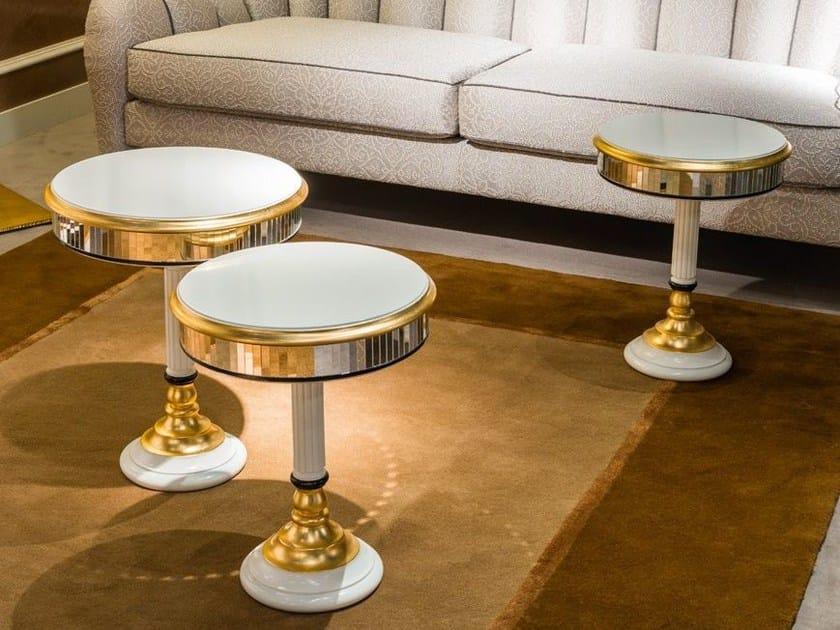 Round coffee table METAMORFOSI | Coffee table by Carpanelli Classic