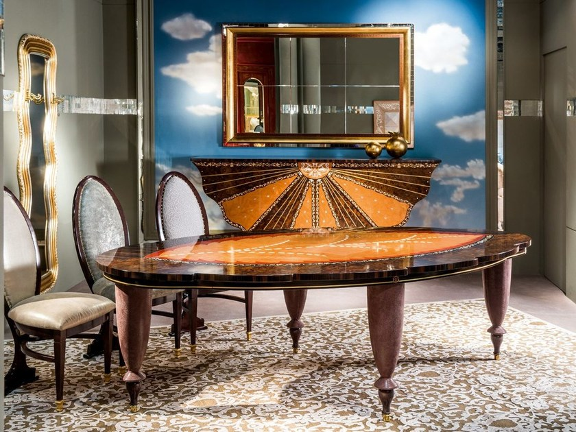 Wooden table METAMORFOSI | Wooden table by Carpanelli Classic