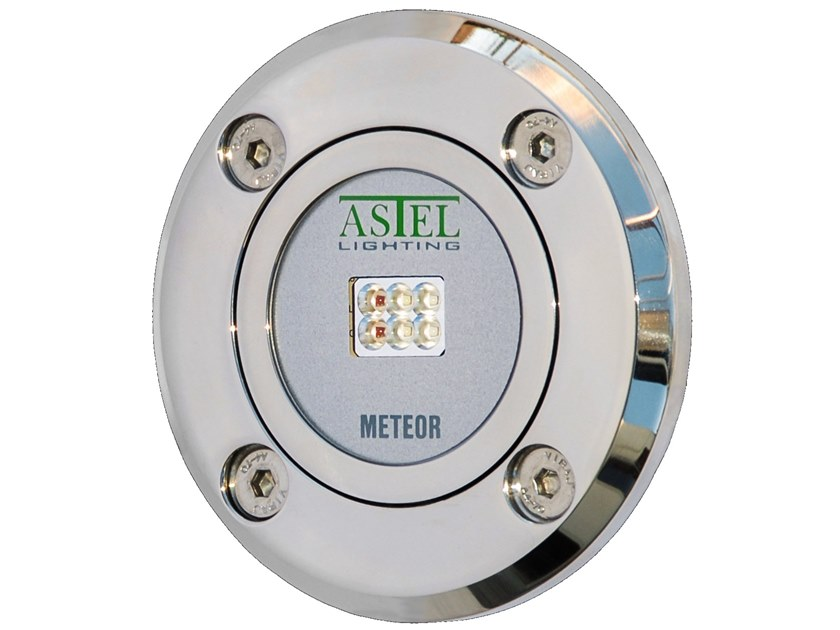 LED underwater lamp for pools and fountains METEOR LSR0640 by ASTEL LIGHTING