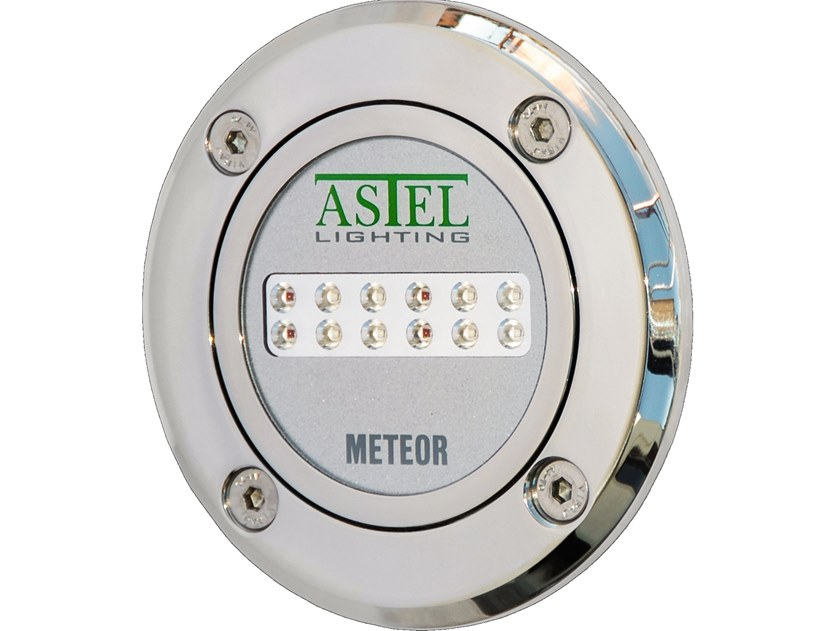 LED underwater lamp for pools and fountains METEOR LSR1280 by ASTEL LIGHTING