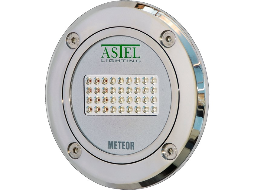 LED underwater lamp for pools and fountains METEOR LSR36240 by ASTEL LIGHTING