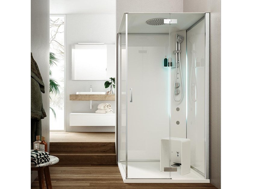 Multifunction shower cabin METIS by Glass1989