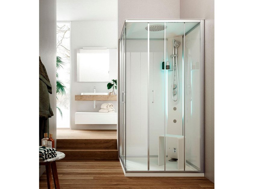 Multifunction shower cabin METIS S by Glass1989