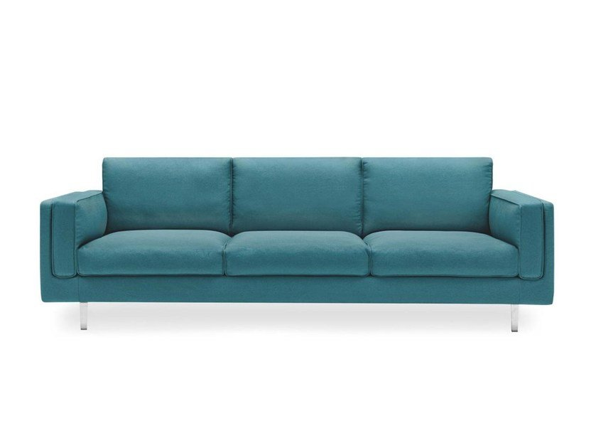 Sectional fabric sofa METRO by Calligaris