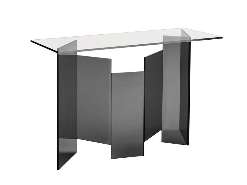 Rectangular console table METROPOLIS | Console table by Tonelli Design