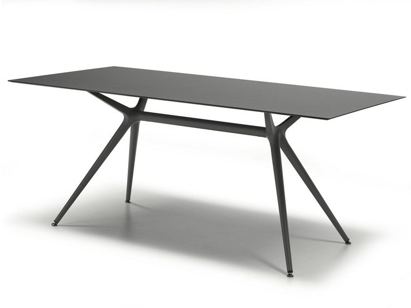 Rectangular dining table METROPOLIS L by SCAB DESIGN