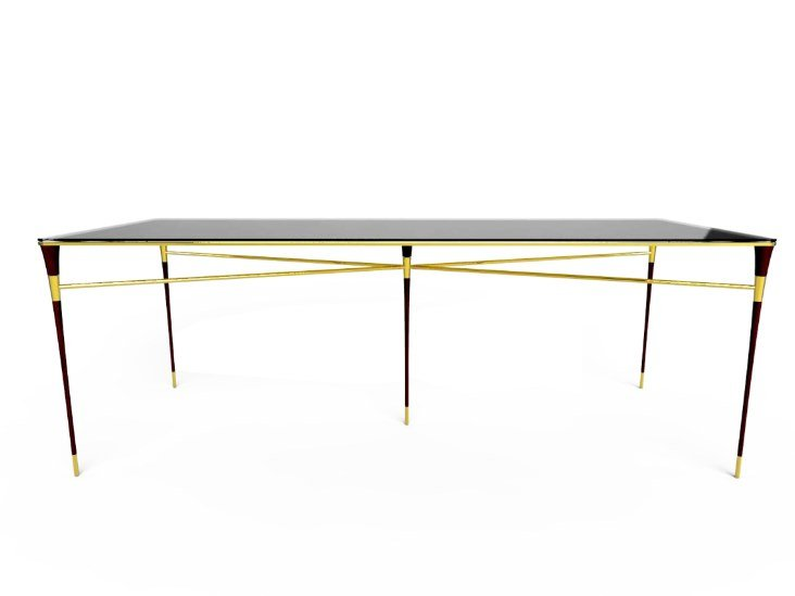 Rectangular dining table METROPOLITAN | Dining table by Duquesa & Malvada
