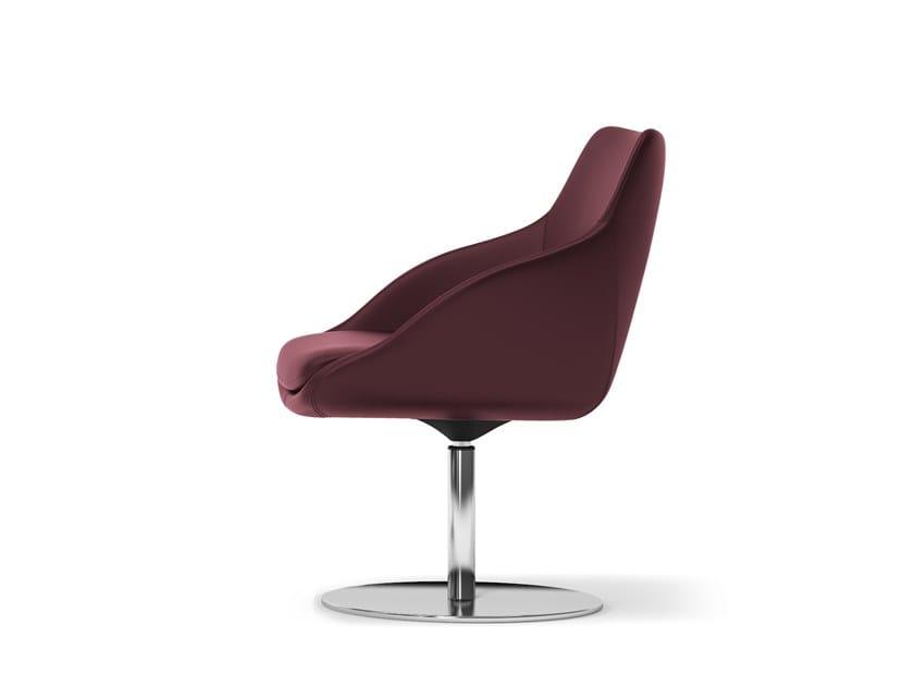Swivel easy chair METROPOLITAN | Swivel easy chair by Arte & D