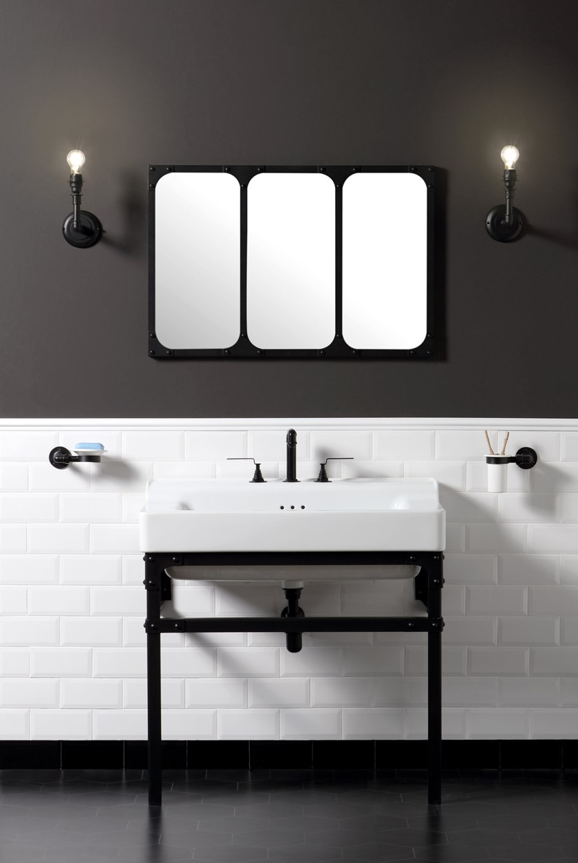 metropolitan single washbasin metropolitan collection by bleu