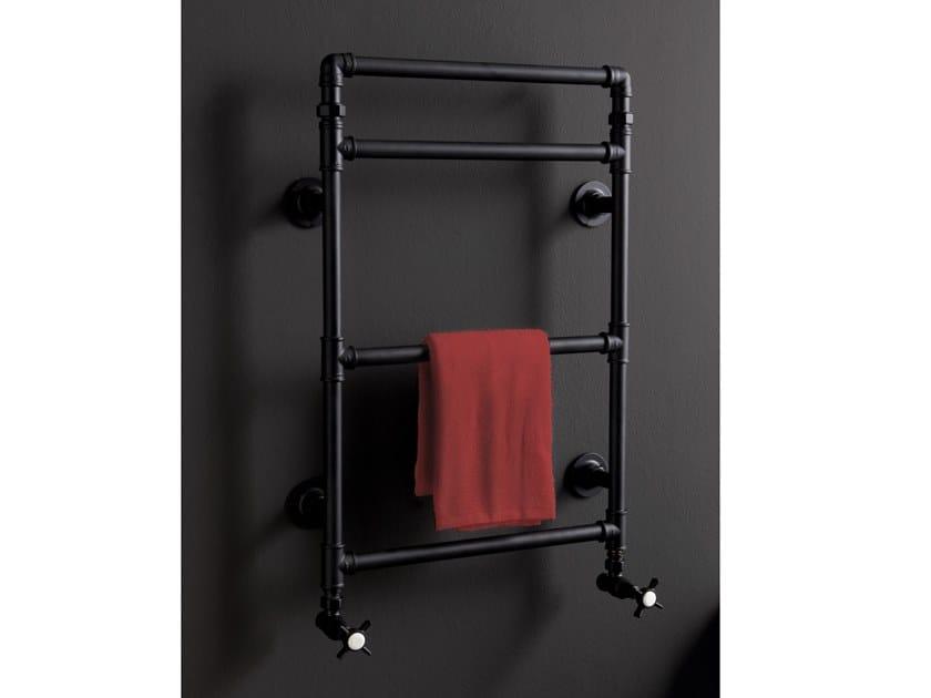 Wall-mounted towel warmer METROPOLITAN   Towel warmer by BLEU PROVENCE