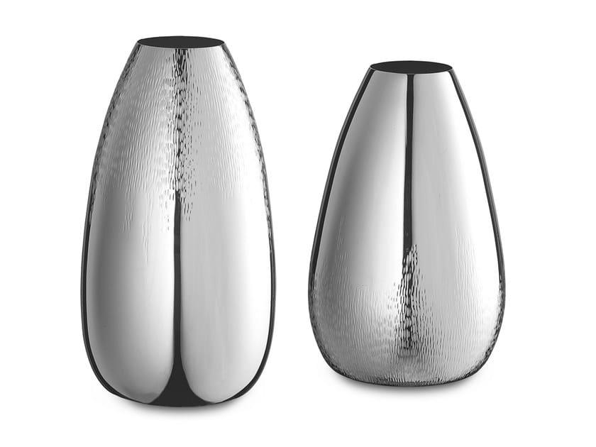 Silver vase MEXICO by ZANETTO