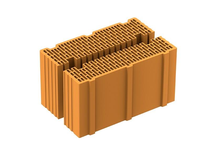 Thermal insulating clay block MEZZE POROTON P700 TS by Fornaci Laterizi Danesi