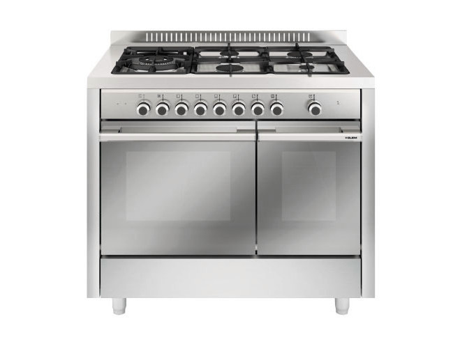 Steel cooker MF1644SI   Cooker by Glem Gas