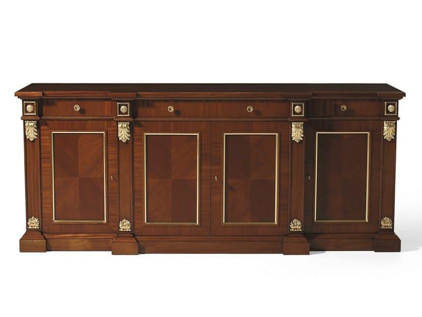 Mahogany sideboard with doors MG 1032 by OAK