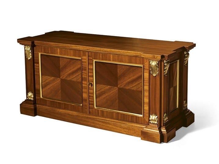 Mahogany computer cabinet MG 1037 by OAK