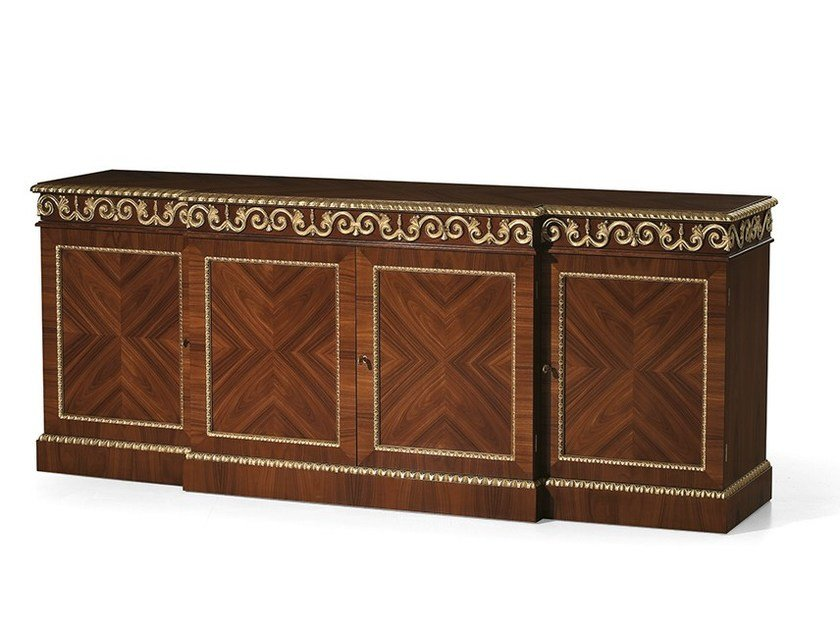 Rosewood sideboard with doors MG 1142 by OAK