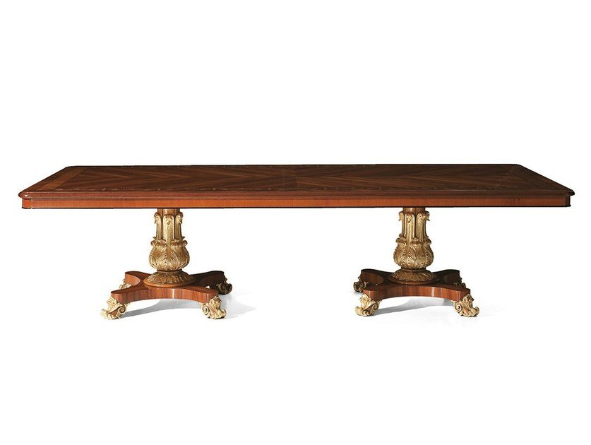 Rectangular rosewood table MG 1143 by OAK