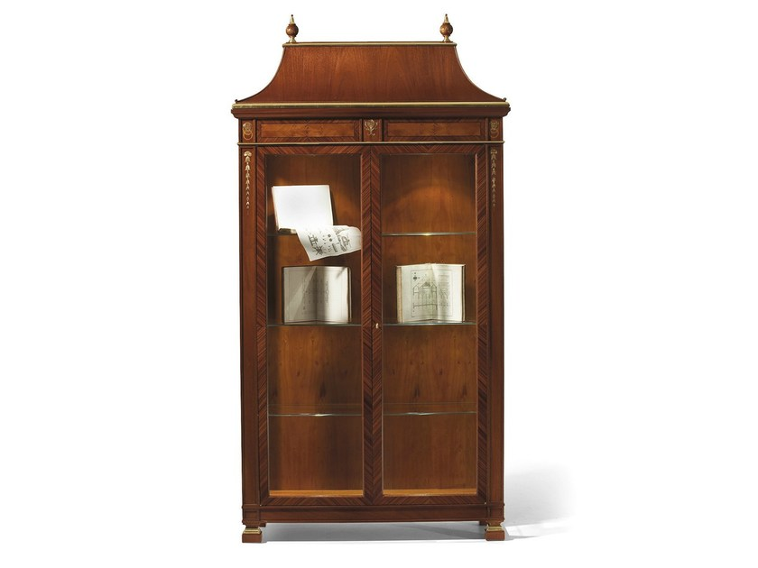 Wooden display cabinet MG 1181 by OAK