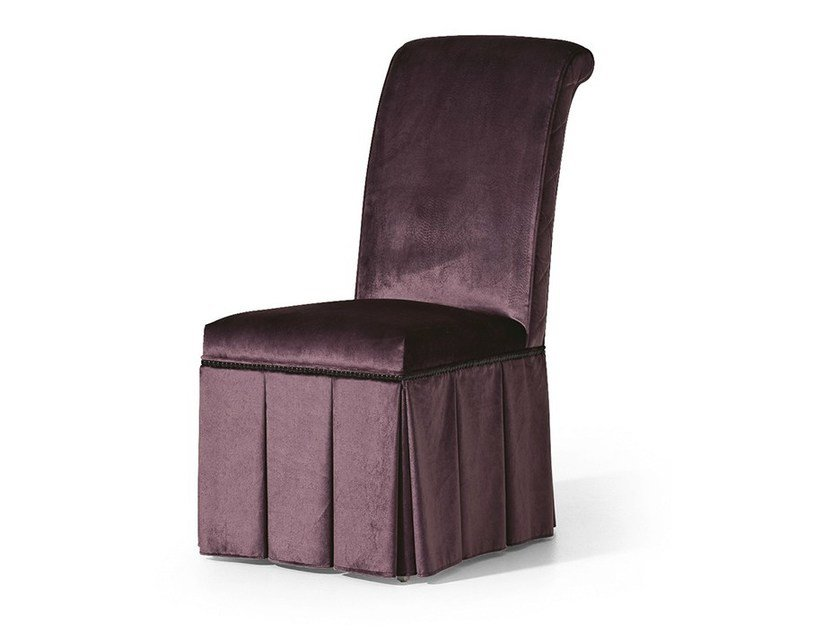 Upholstered fabric chair MG 2708 by OAK