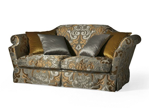 Classic style 3 seater fabric sofa MG 3073 by OAK