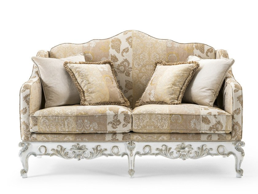 2 seater fabric sofa MG 3312 by OAK