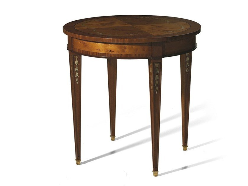 Round rosewood coffee table MG 4218 by OAK