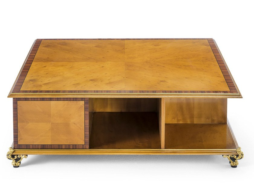 Square rosewood coffee table MG 4647 by OAK