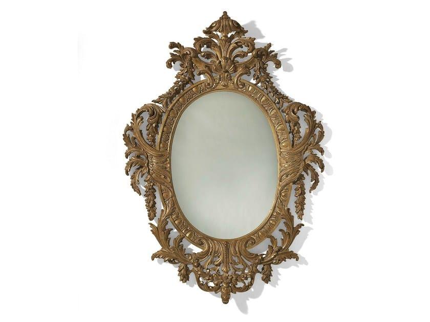 Wall-mounted framed mirror MG 5121 by OAK