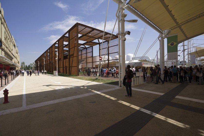 MGO BOARD Expo 2015 - Padiglione Brasile