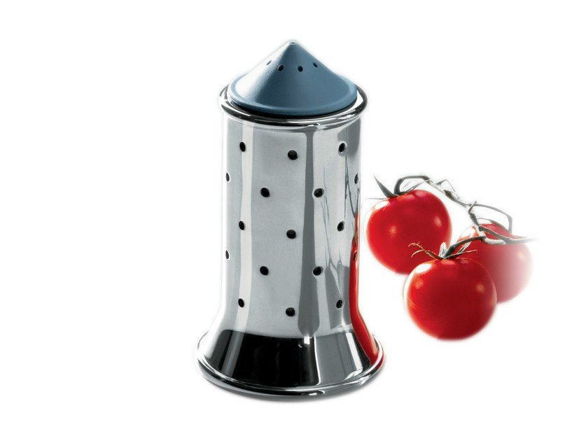 Stainless steel salt shaker MGSAL by Alessi