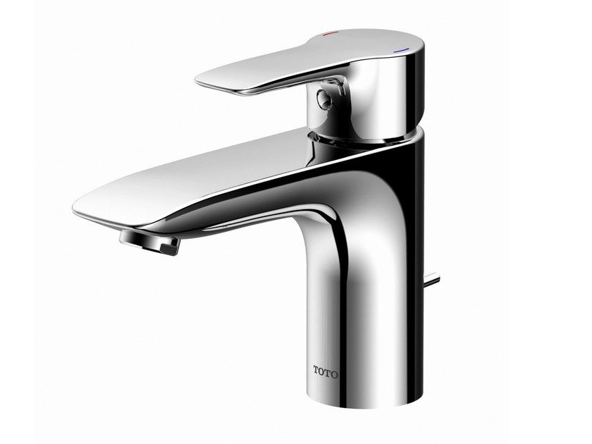 Single handle chromed brass washbasin mixer MH | Single handle washbasin mixer by TOTO